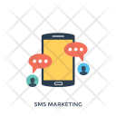 Sms Marketing Mobile Icon