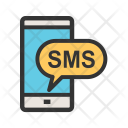 Sms Notification Device Icon