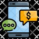 Sms Transaction Money Message Icon