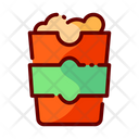 Snack Pop Corn Snacks Icon