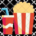 Snack Cinema Fastfood Icon