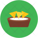 Snack Meal Bowl Icon
