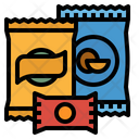 Snack Food Chips Icon