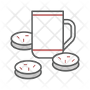 Snack Tea Coffee Break Icon