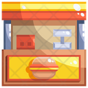 Snack Booth Bazaar Booth Icon