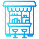 Snack Booth Stand Icon