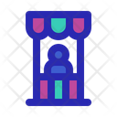 Snack Booth Icon