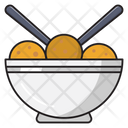 Bowl Food Snack Icon