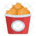 Snacks Chicken Bites Icon