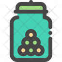 Snack Jar Food Icon