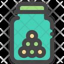 Snack Jar Icon
