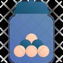 Snack Jar Food Icon