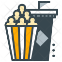 Movie Snack Popcorn Icon