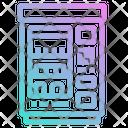 Snacks Vending Machine Icon