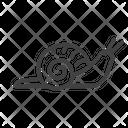 Snail Garden Spring Icon