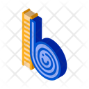 Snail Creeping Up Icon