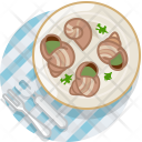 France Snails Lunch Icon
