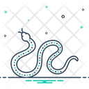 Snake Serpent Ophidian Icon