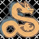 Animal Reptile Snake Icon
