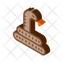 Desert Snake Sandy Icon