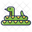 Snake Reptile Animal Icon