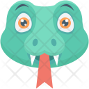 Snake Animal Face Icon