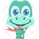 Snake Poision Cute Icon