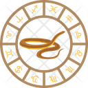 Snake Astrology Icon