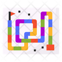 Snake Board Game Icon