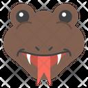 Snake Emoji Icon