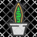 Snake Plant Cactus Icon