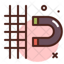 Snap Grid Icon