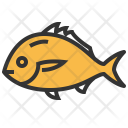 Snapper Seafood Food Icon