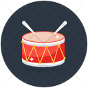 Snare Drum Rattle And Drum Drum Icon