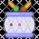 Snare Drum Drum Beating Music Instrument Icon