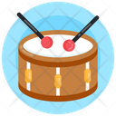 Drum Snare Drum Musical Instrument Icon