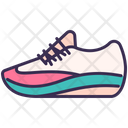 Running Shoe Outfit Icon