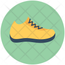 Sneakers Footwear Jogging Icon