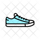Sneakers Shoe Color Icon