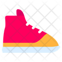Sneakers Shoes Feet Icon
