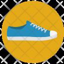 Sneakers Footwear Shoes Icon