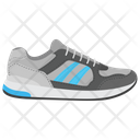 Running Shoe Jogging Shoe Sneakers Icon