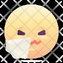 Sneeze Emoji Smiley Icon