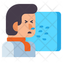 Sneeze Guard Sneeze Illness Icon