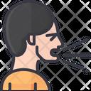 Sneezing Sneeze Man Icon