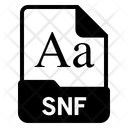 Snf file Icon