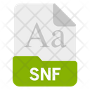 Nf File Format Icon