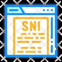 Sni Sni Protocal Protocol Icon