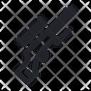 Sniper Firearm Gun Icon