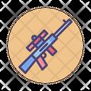 Sniper Gun Automatic Icon